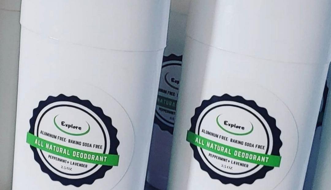 MyExploreBrand Natural Deodorant